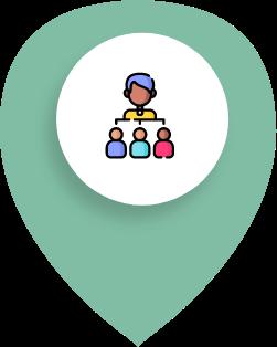 réseau relations sociales