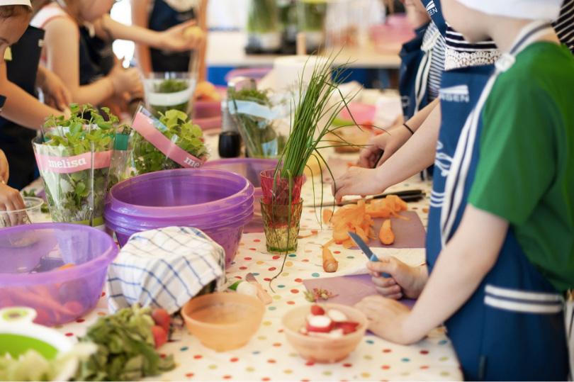 photo atelier cuisine pour enfants