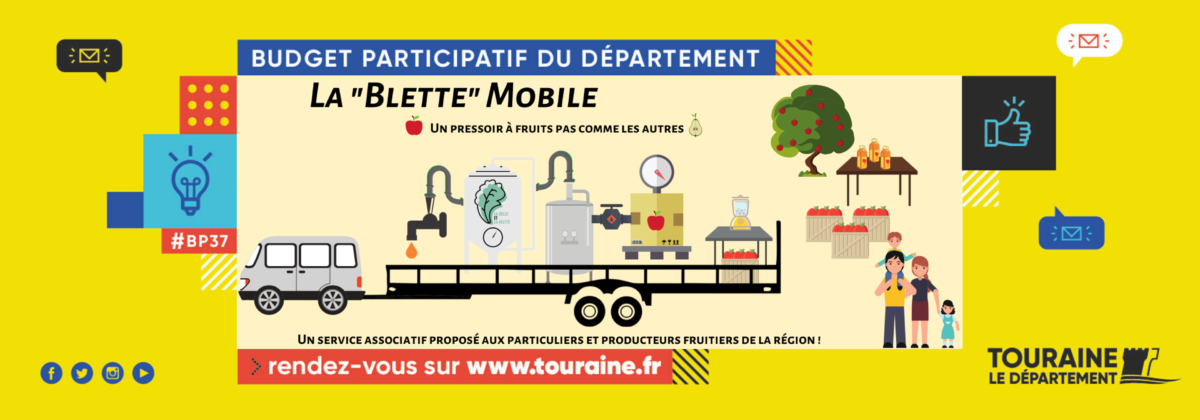 le pressoir à jus mobile